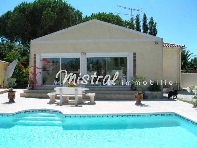 Vente Vente Villa De Plain Pied 5 Pieces Piscine Aigues