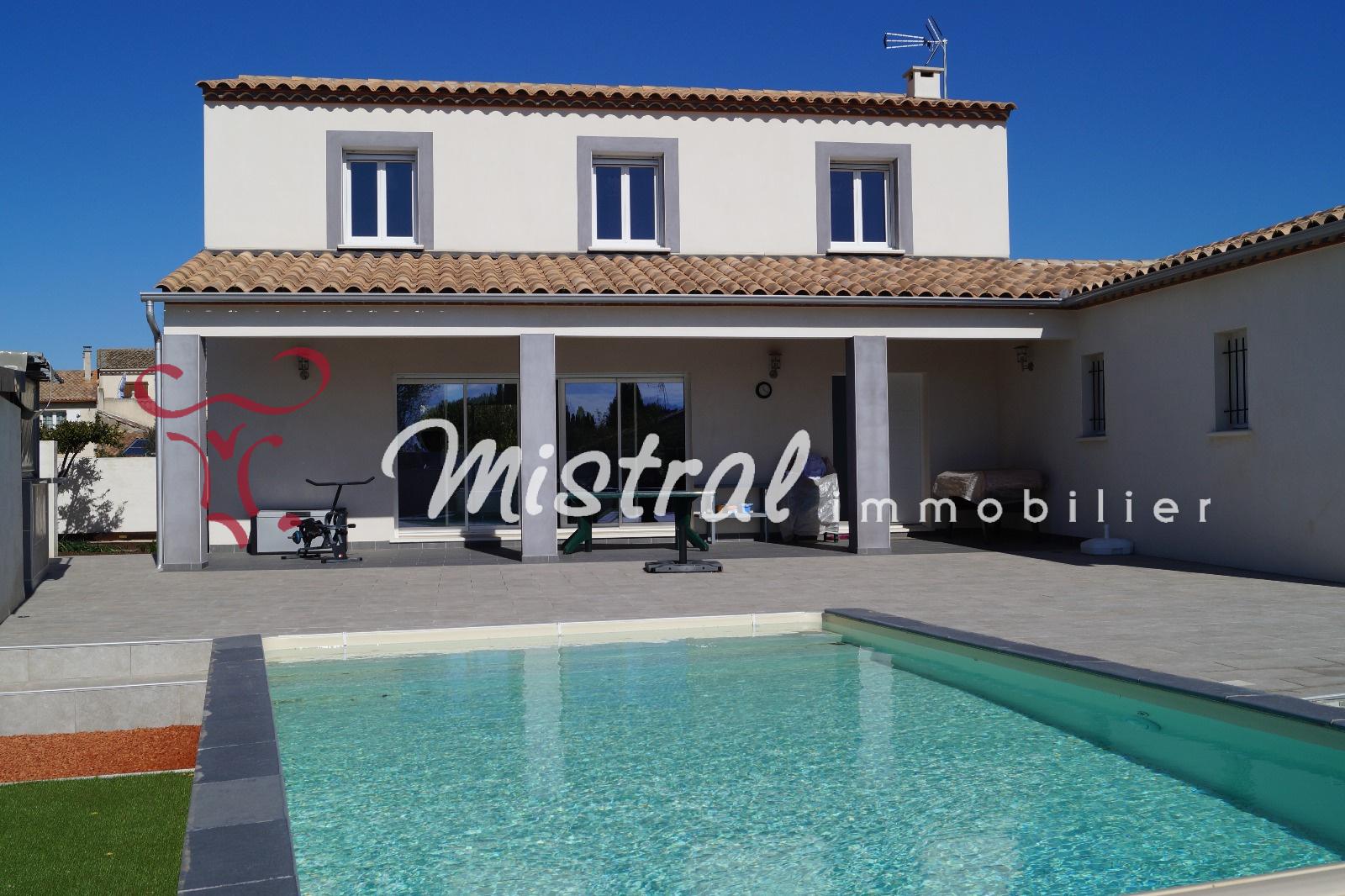 Vente vendu mistral vente villa r cente 5 chambres - Saint laurent d aigouze chambre d hote ...